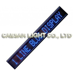 P10 7x120 Semi-outdoor LED Sign