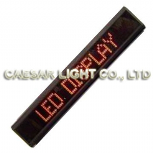 P7.62 7x120 Indoor LED Moving Sign