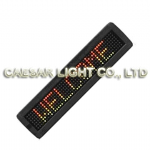 P7.62 7x50 Indoor LED Moving Sign