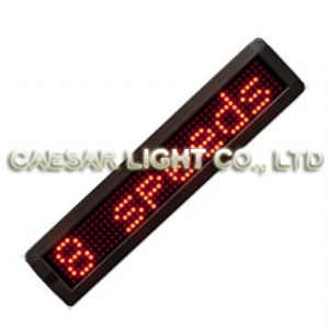 P7.62 7x50 Semi-outdoor LED Sign