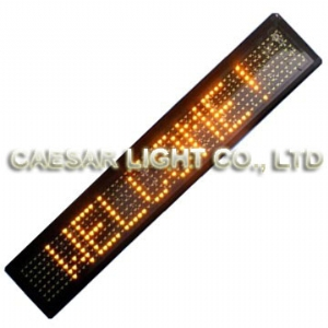 P22 7x60 Semi-outdoor LED Sign