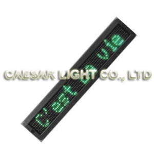 P10 7x64 semi-outdoor LED Moving Sign