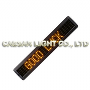 P7.62 7x80 Semi-outdoor LED Sign