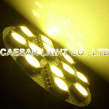 Back Pin 12pcs 5050 SMD LED G4