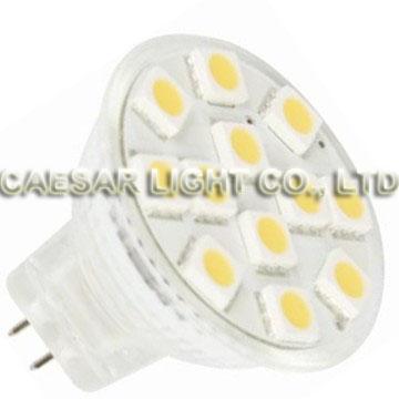 12pcs 5050 SMD LED MR11