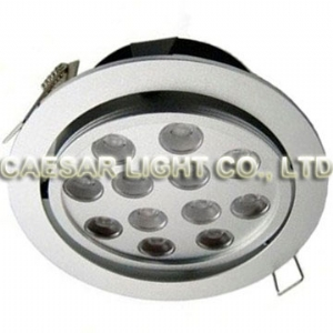 Recessed LED Down light 12X1W