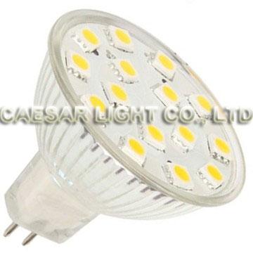 15pcs 5050 SMD LED MR16