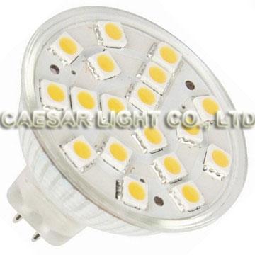18pcs 5050 SMD LED MR16