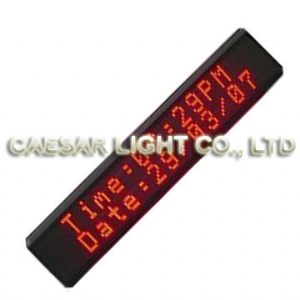 P4.75 16x128 Semi-outdoor LED Sign
