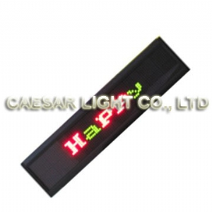 P4 16x80 Indoor LED Moving Sign