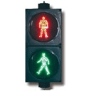 200mm Pedestrian Signal LED Light