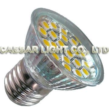 20pcs 5050 SMD LED E27