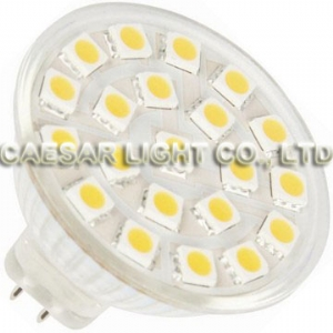 21 pcs 5050 SMD LED MR16