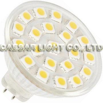 21 pcs 5050 SMD LED MR16