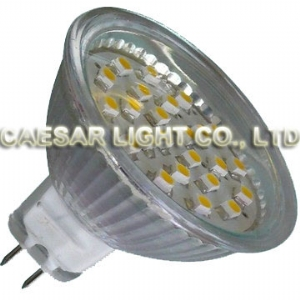 24pcs 1210 SMD LED MR16