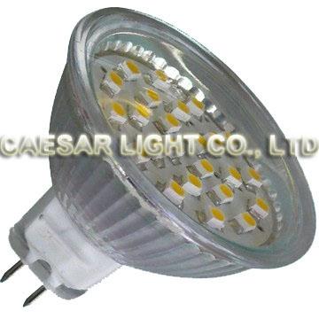 24pcs 1210 SMD LED MR16