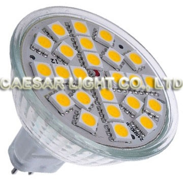 24 pcs 5050 SMD LED MR16