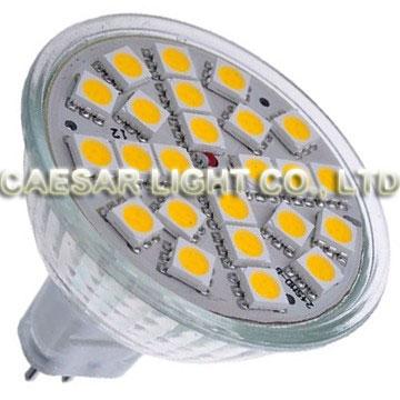 24 pcs 5050 SMD LED MR16