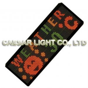 P7.62 24x80 interior LED Moving Sign