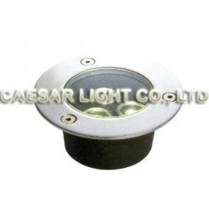 Round 3X1W LED Underground Lamp
