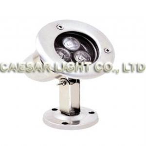 Round 3X1W LED Underwater Lamp
