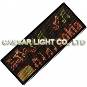 P7.62 32x160 Indoor LED Moving Sign