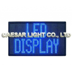 P7.62 32x64 Semi-outdoor LED Sign