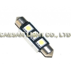 42mm 3pcs 5050 LED Festoon