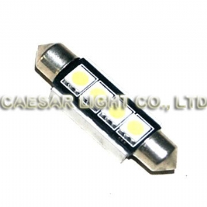 42mm 4pcs 5050 LED Festoon