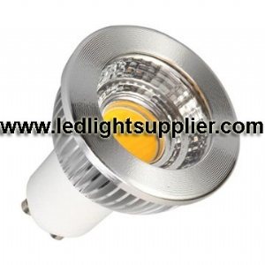5W COB LED GU10 80 Degree