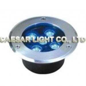 Round 5X1W LED Underground Lamp