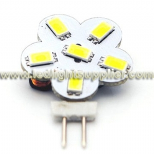 Side Pin 6pcs 5630 SMD LED G4