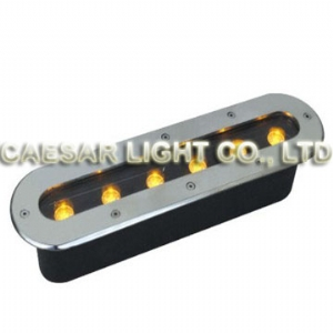 Long 6X1W LED Underground Lamp