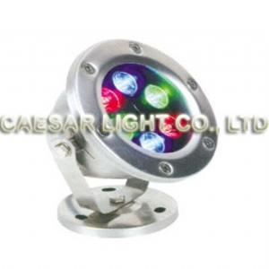 Round 6X1W LED Underwater Lamp