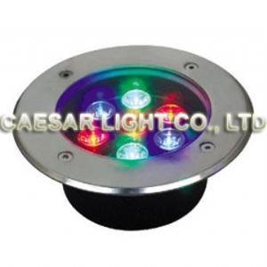 Round 7X1W LED Underground Lamp
