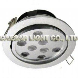 Recessed LED Down light 9X1W