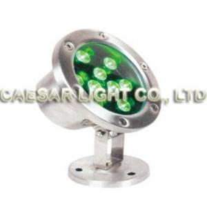 Round 9X1W LED Underwater Lamp