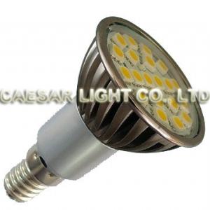 Aluminum 20 LED E14 JDR