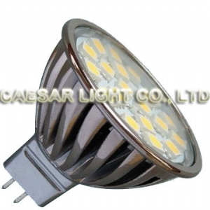Aluminum 20 LED MR16