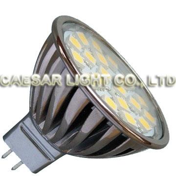 Aluminum 20 LED MR16