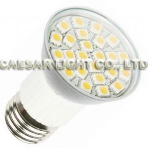 Aluminum 24 LED E27 JDR