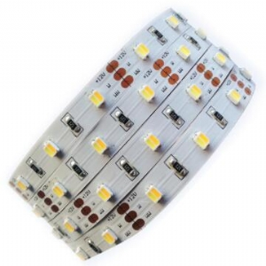 CCT Adjustable 12V 60pcs/m 3527 LED Strip