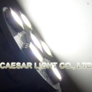 Side Pin 6pcs 5050 SMD LED G4
