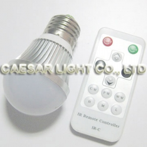 CCT Adjustable 3W LED Bulb