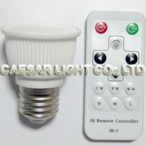 CCT Adjustable 3W LED E27