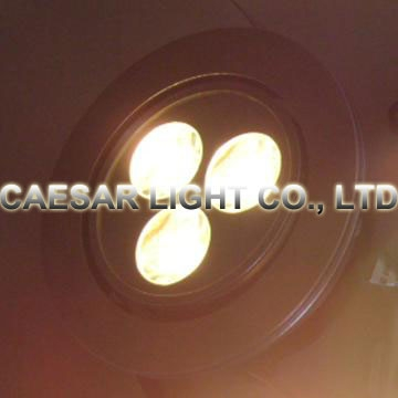Recessed LED Down light 3X1W