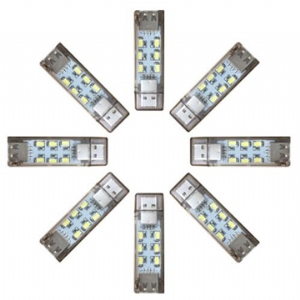 6x2 LED USB Mini Light