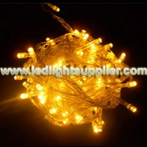 Orange LED String Light