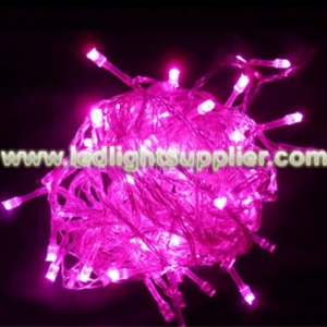 Pink LED String Light