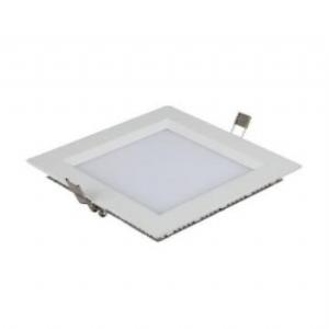 Square Recessed LED Panel Light 6W